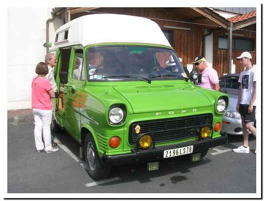 Ford Transit 1977 M Courtot